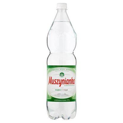 Obrazek Muszynianka Naturalna woda mineralna wysokozmineralizowana niskonasycona CO2 1,5 l