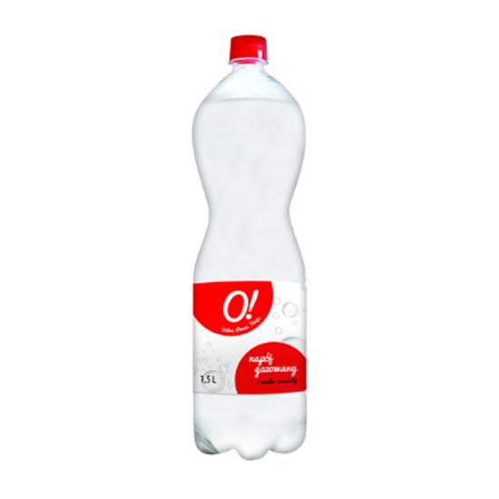 Obrazek O! Napój gazowany o smaku oranżady białej 1,5 l