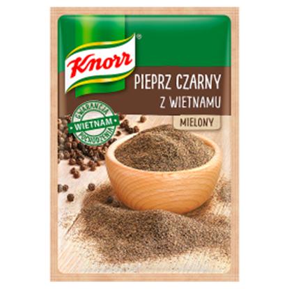 Obrazek Knorr Pieprz czarny z Wietnamu mielony 16 g