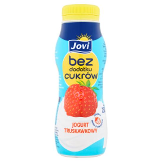 Obrazek Jovi Jogurt truskawkowy bez dodatku cukrów 230 g