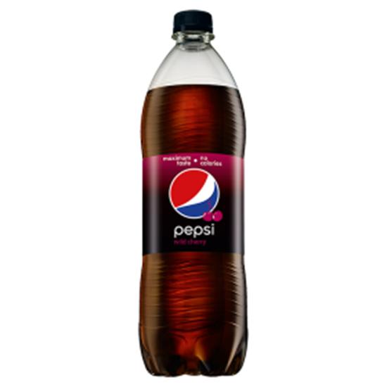 Obrazek Pepsi Wild Cherry Napój gazowany 1 l