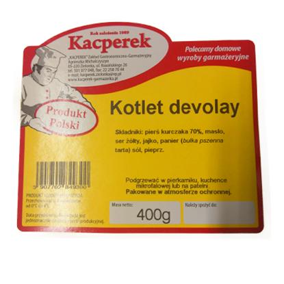 Obrazek Kacperek kotlet de volaille 400 g