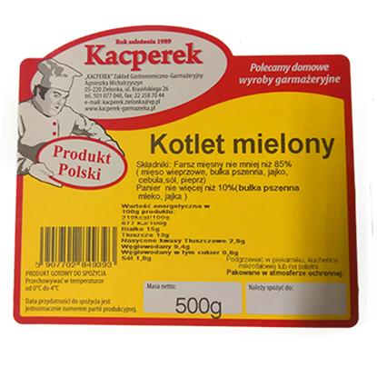 Obrazek Kacperek kotlety mielone 500 g