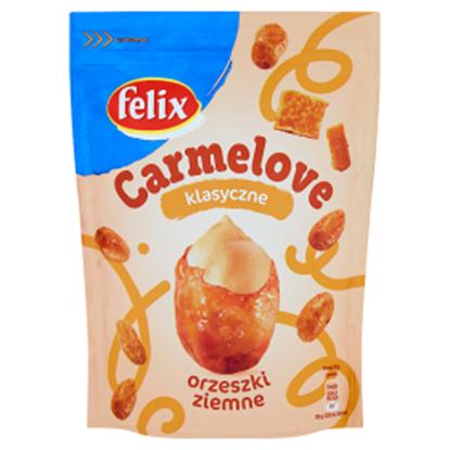 Obrazek Felix Carmelove Orzeszki ziemne w karmelu klasyczne 160 g