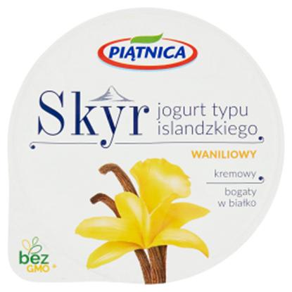 Obrazek Piątnica Skyr Jogurt typu islandzkiego waniliowy 150 g