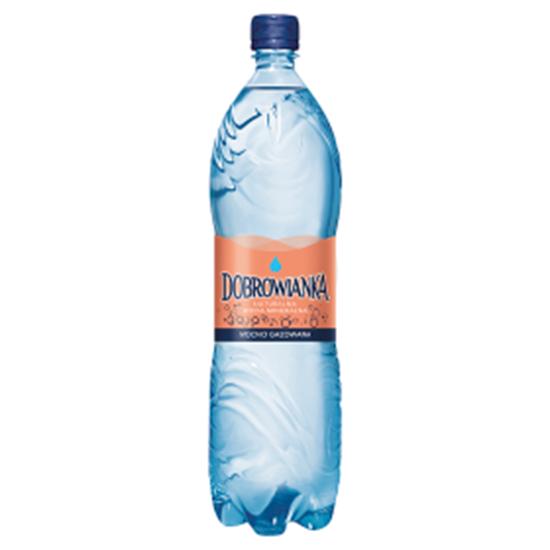 Obrazek Dobrowianka Naturalna woda mineralna mocno gazowana 1,5 l
