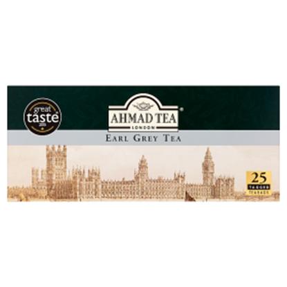 Obrazek Ahmad Tea Earl Grey Herbata czarna 50 g (25 torebek)