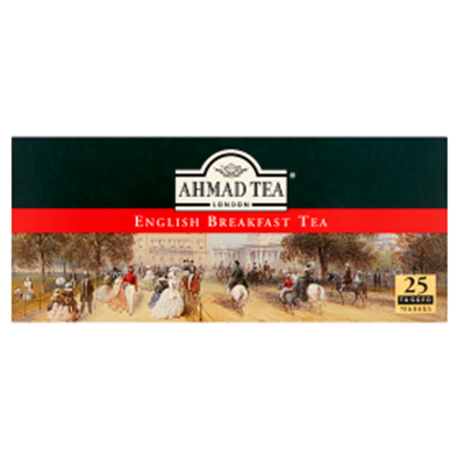 Obrazek Ahmad Tea English Breakfast Herbata czarna 50 g (25 torebek)