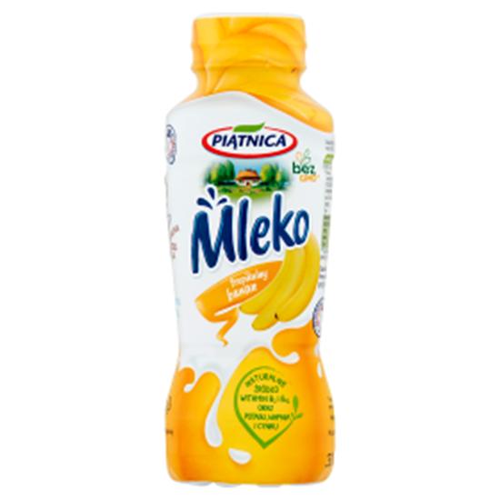 Obrazek Piątnica Mleko tropikalny banan 330 ml
