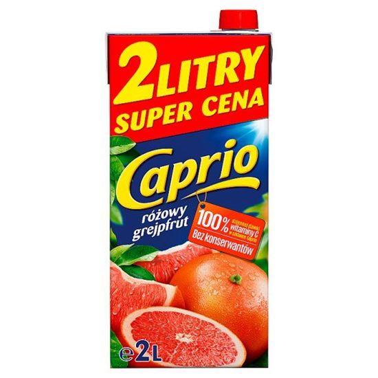Caprio Napój różowy grejpfrut 2 l
