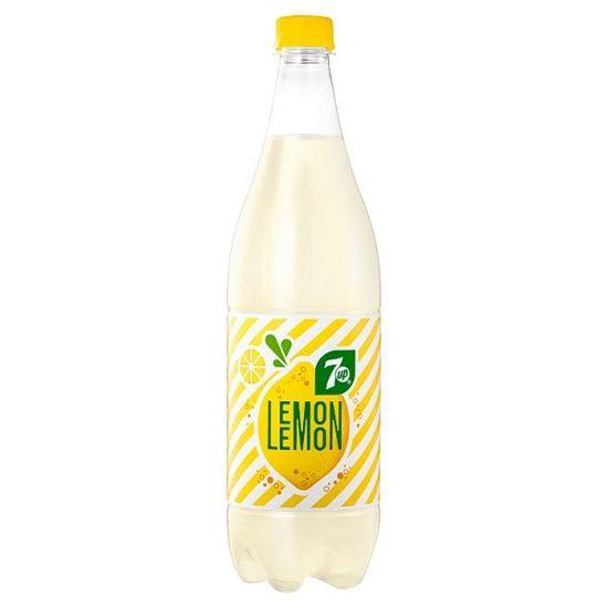 7UP Lemon Napój gazowany smak cytrynowy 1 l