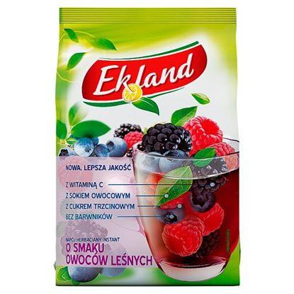 Ekland Napój herbaciany instant o smaku owoców leśnych 300 g