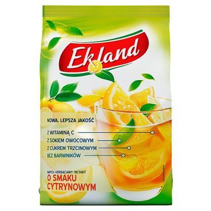 Ekland Napój herbaciany instant o smaku cytrynowym 300 g
