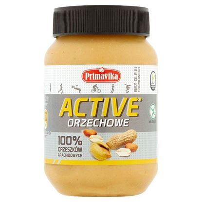 Primavika Active Pasta orzechowa 100% orzeszków arachidowych 470 g