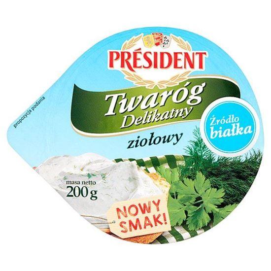 Président Twaróg Delikatny ziołowy 200 g