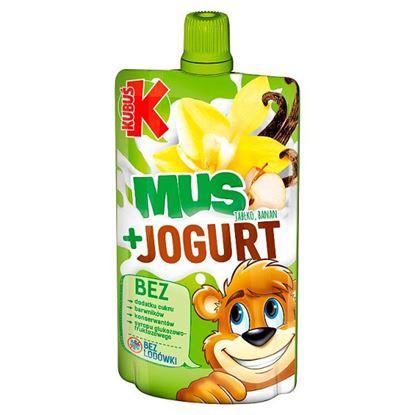 Kubuś Mus + Jogurt jabłko banan 80 g