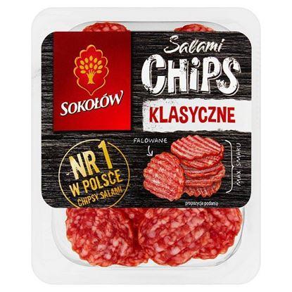 Sokołów Salami Chips klasyczne 60 g