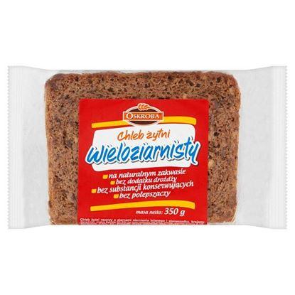 Oskroba Chleb żytni wieloziarnisty 350 g