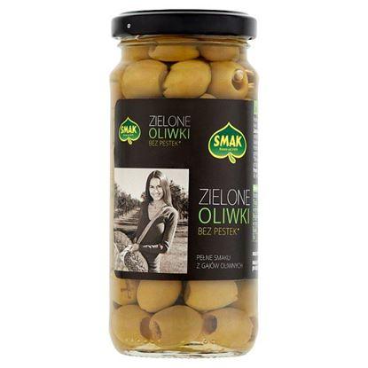 Smak Zielone oliwki bez pestek 220 g
