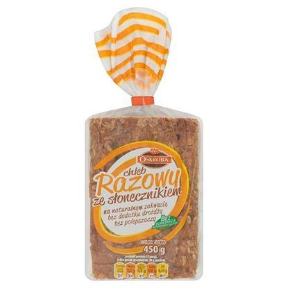 Oskroba Chleb razowy ze słonecznikiem 450 g