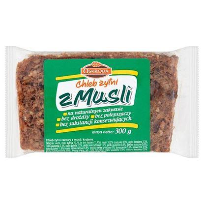 Oskroba Chleb żytni z musli 300 g