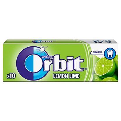 Orbit Lemon Lime Guma do żucia bez cukru 14 g (10 sztuk)
