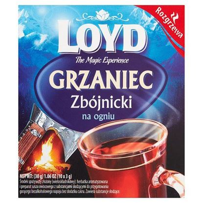 Loyd Herbatka Grzaniec zbójnicki na ogniu 30 g (10 x 3 g)