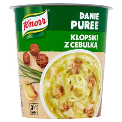 Obrazek Knorr Danie Puree Klopsiki z cebulką 53 g