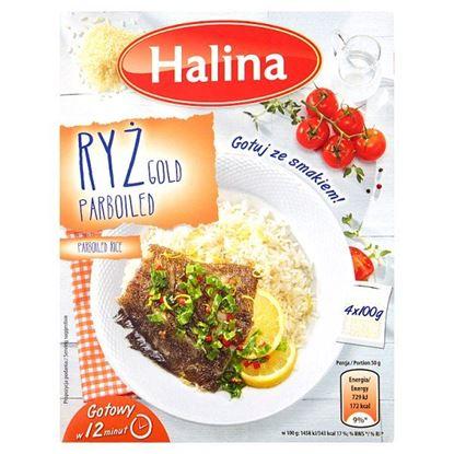 Halina Ryż Gold Parboiled 400 g (4 x 100 g)