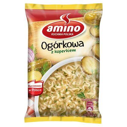 Amino Zupa błyskawiczna ogórkowa z koperkiem 61 g