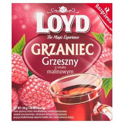 Loyd Herbatka Grzaniec grzeszny o smaku malinowym 30 g (10 x 3 g)