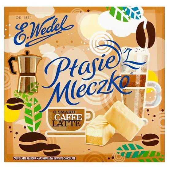 E. Wedel Ptasie Mleczko o smaku caffe latte 380 g