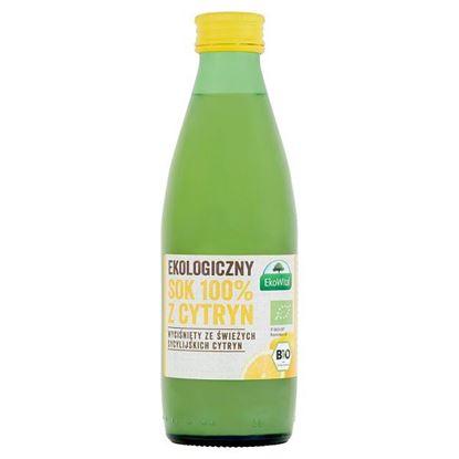 EkoWital Ekologiczny sok 100% z cytryn 250 ml
