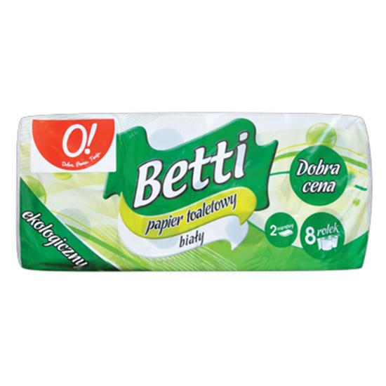 Obrazek O! Betti papier toaletowy 8 rolek