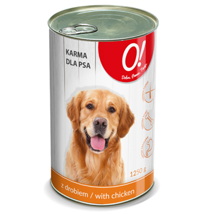 Obrazek O! Karma dla psa z drobiem 1250 g