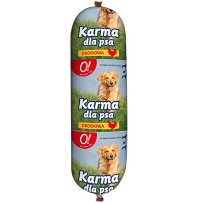 Obrazek O! Karma dla psa z drobiem baton 900 g
