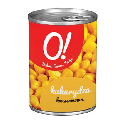 Obrazek O! Kukurydza konserwowa 400 g