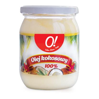 Obrazek O! Olej kokosowy 500 ml