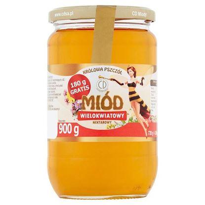Królowa Pszczół Miód wielokwiatowy nektarowy 900 g