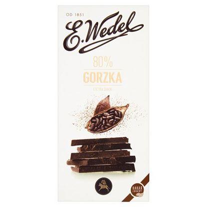 E. Wedel Czekolada gorzka 80% 100 g