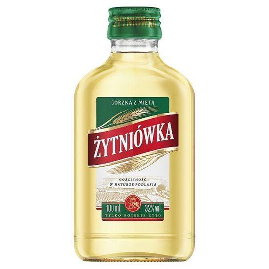 c896c464225f94 Żytniówka gorzka z miętą Napój spirytusowy 100 ml. Sklep spożywczy z ...
