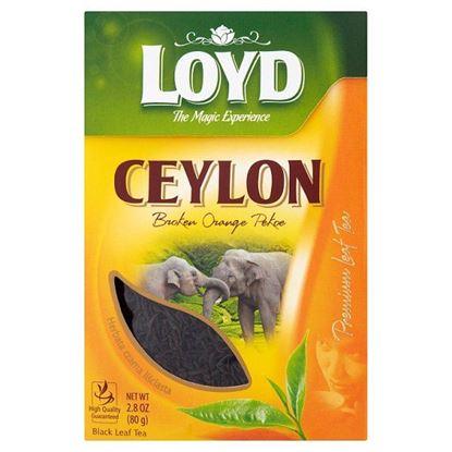 Loyd Ceylon Herbata czarna liściasta łamana 80 g