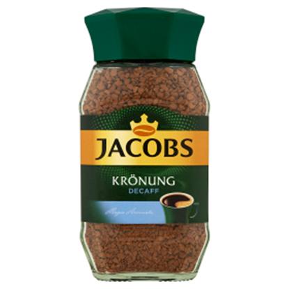 Obrazek Jacobs Krönung Decaff Kawa bezkofeinowa rozpuszczalna 100 g