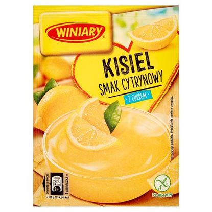 Winiary Kisiel z cukrem smak cytrynowy 77 g