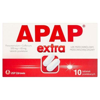 Apap Extra Lek przeciwbólowy przeciwgorączkowy 10 sztuk
