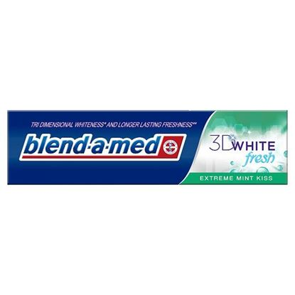 Blend-a-med 3D White Pasta do zębów 100ml, Extreme Mint Kiss