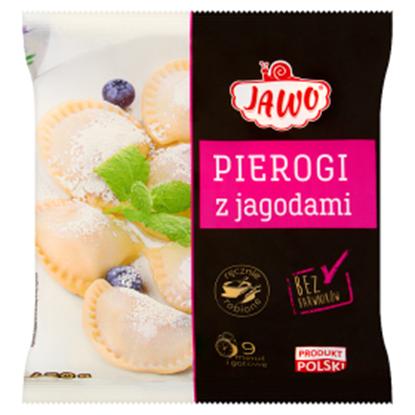 Obrazek Jawo Pierogi z jagodami 450 g