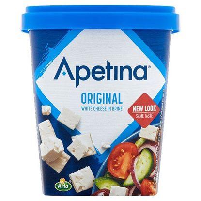Arla Apetina Ser biały sałatkowy w kostkach 430 g
