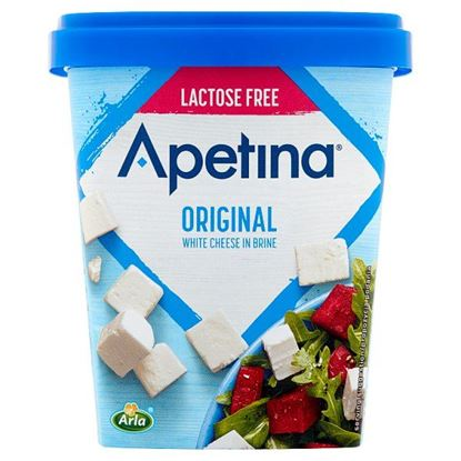 Arla Apetina Ser biały sałatkowy w kostkach bez laktozy 430 g