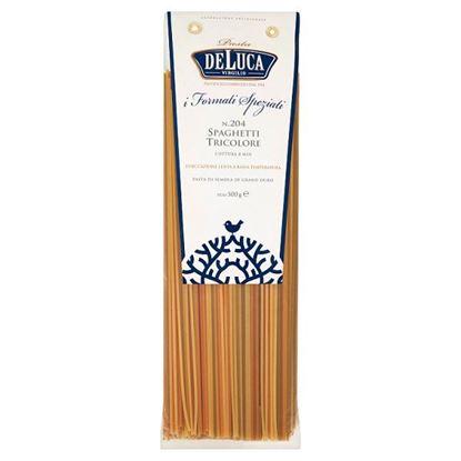 De Luca Tricolore Makaron z pszenicy durum spaghetti 500 g
